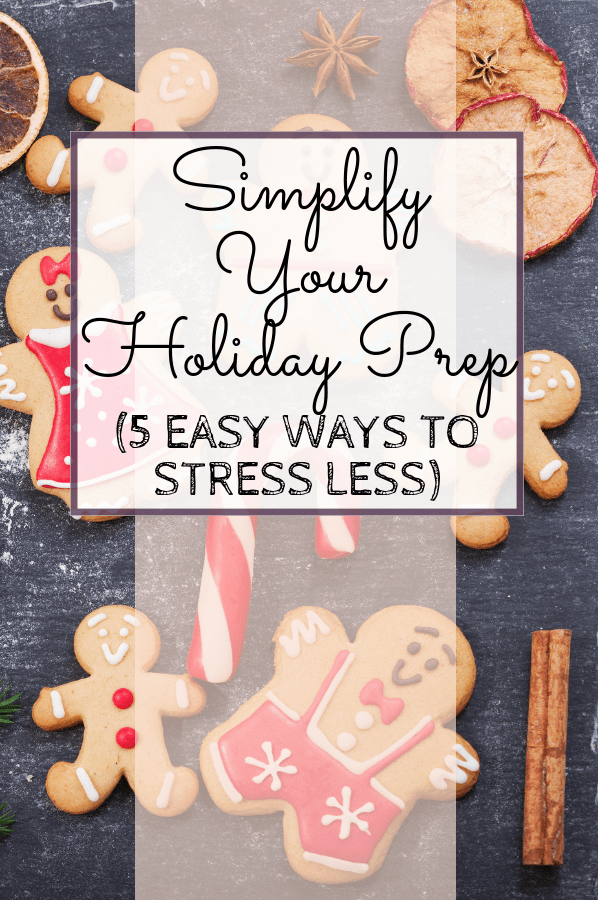 "Feeling overwhelmed by the holidays? Check out these easy ways to pare down your Christmas ""to-do"" list, so you can have more time with your kids and focus on what you love most about the season. #holidays #holidayprep #christmas #parentinghacks #mommycribnotes"