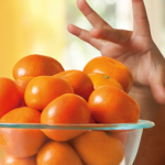 A healthy snack for kids are Cuties Mandarins