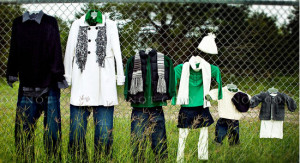 what to wear for family photo shoot_green
