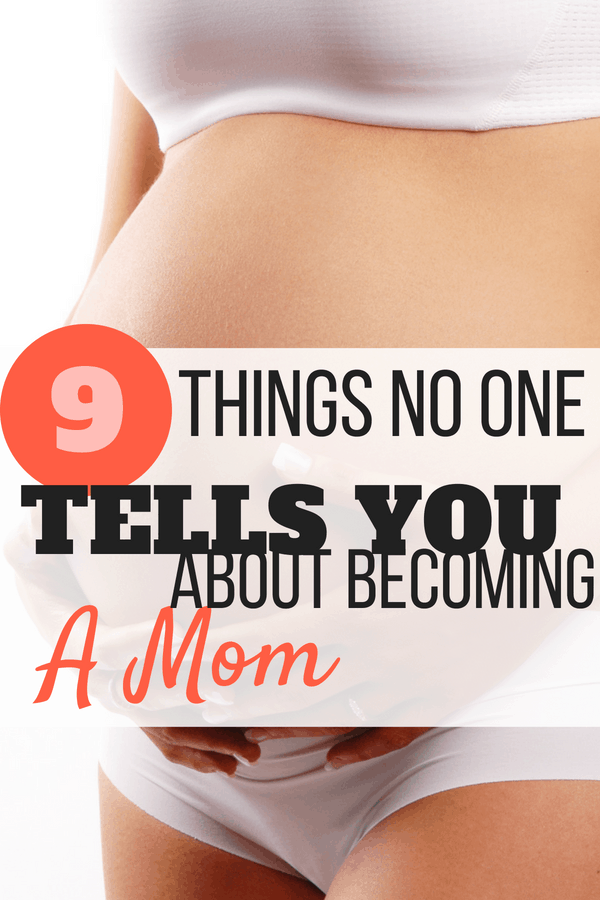 Becoming a parent is a huge life change. Are you ready for it? Get the real scoop on what you can expect during the transition, including why you might not instantly feel like a mom and how to deal with unwanted parenting advice. #pregnancytips #firstpregnancy #momlife #mommycribnotes