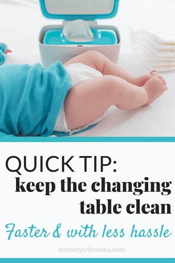 How to Keep Your Changing Table Clean | Diaper Station | Baby Care | Baby Changing Table