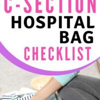 c-section hospital bag checklist
